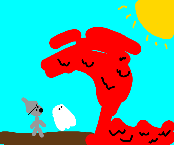 bloody ocean attacks ghost and tin man
