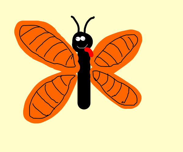 Silly Butterfly