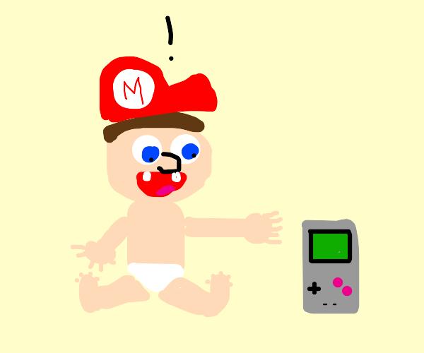 "Baby Mario: ""Its'a Gameboy!"""