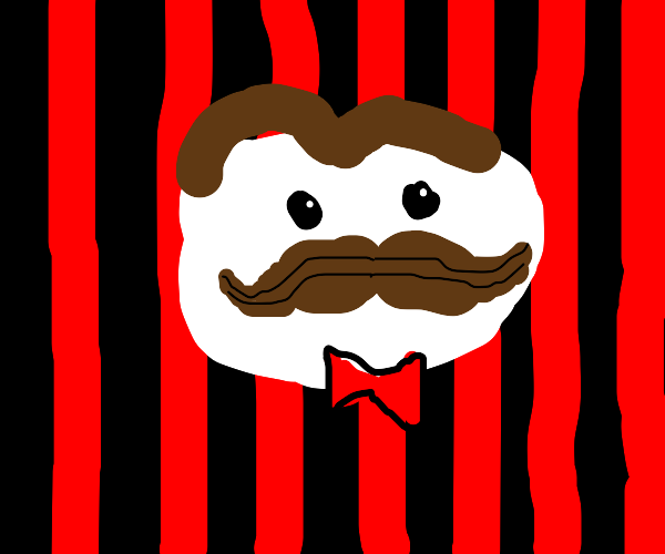pringles logo with black n red background