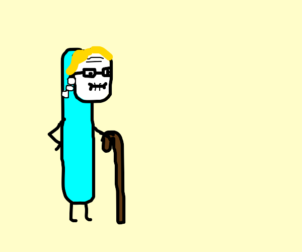 toothbrush Old Lady