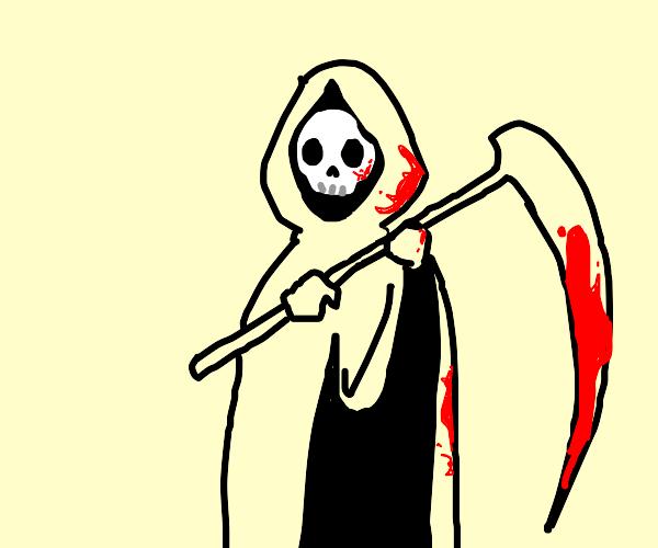 grim reaper murdering people