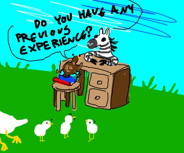 Ugly Duckling hiring Zebra