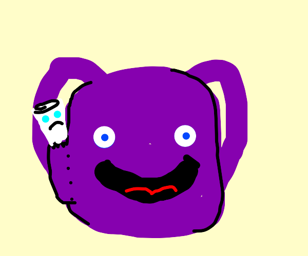 Dora's backpack is happy, the map is sad