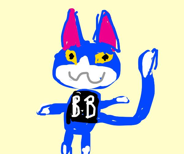 the animal crossing cat