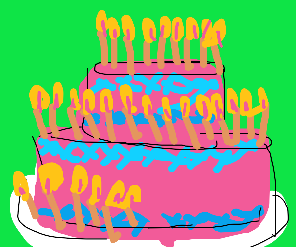 Happy 29th B-Day (cake)