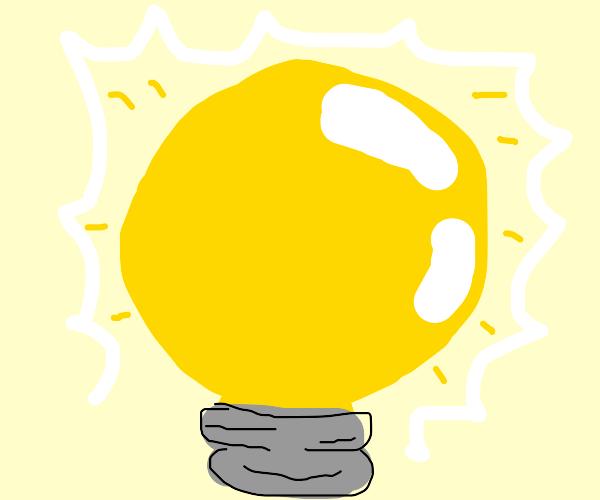 Round Lightbulb
