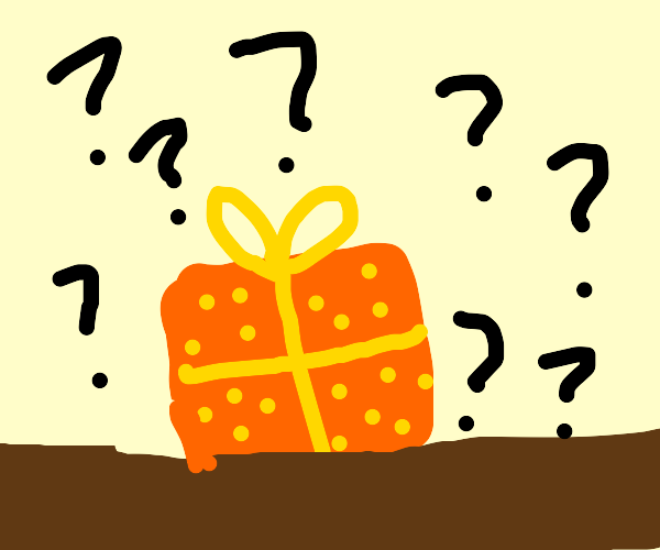 """mystery """"gift"""""""