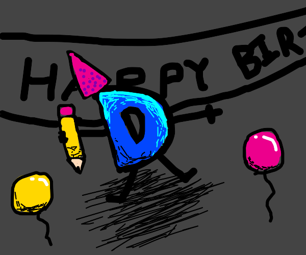 Happy bday drawception