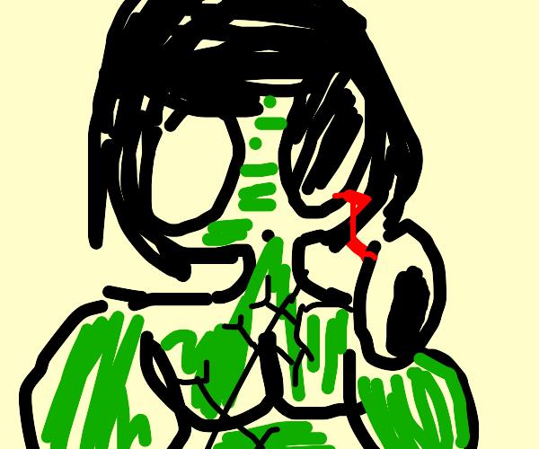 Imprisoned Zombified Hulk