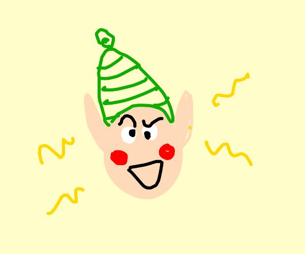 Elf goes haywire