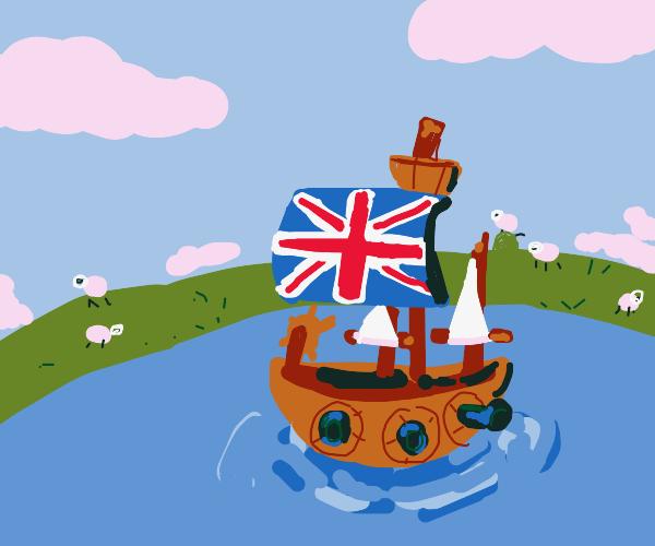 British battleship