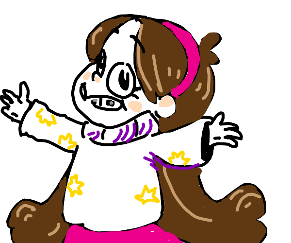 Mabel from gravity falls