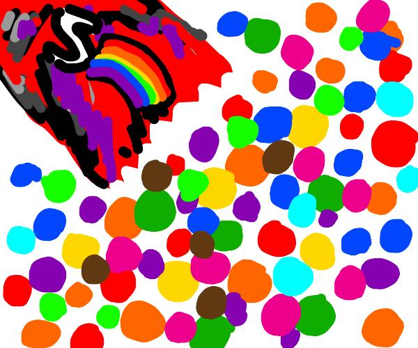 rainbow skribbles