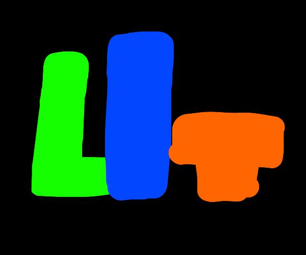Tetris spells LIT