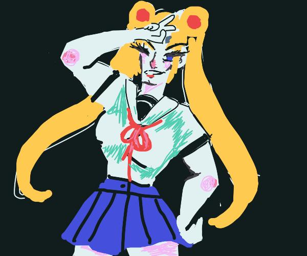 Sailor moon in drag tho