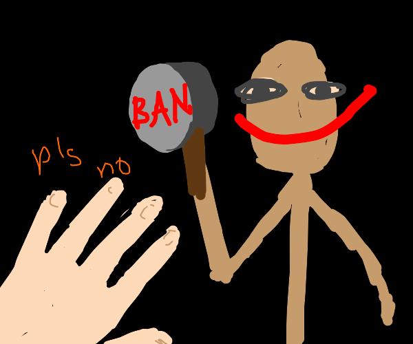 Someone got ban hammered.