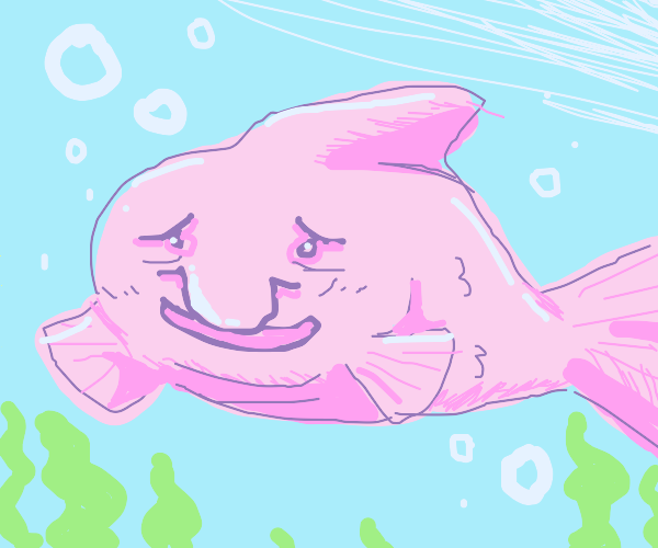 happy blobfish