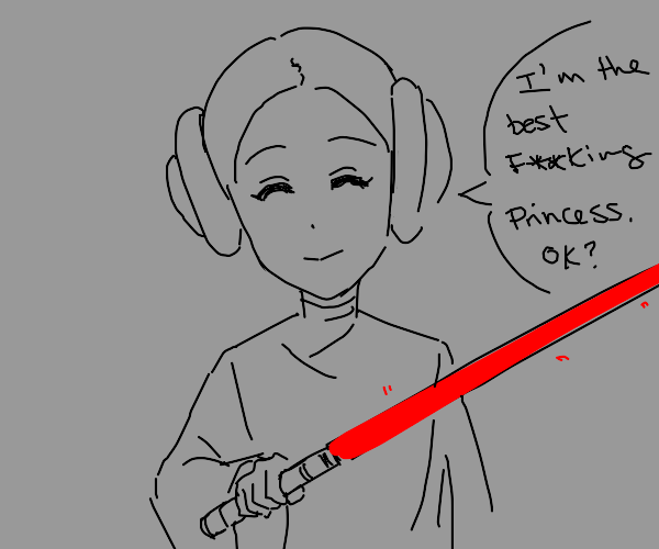 Leia defends her title of best princess