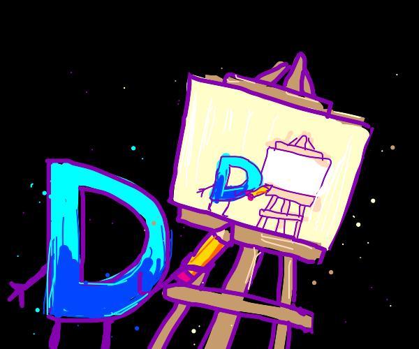 Drawception D painting Drawception D painti..