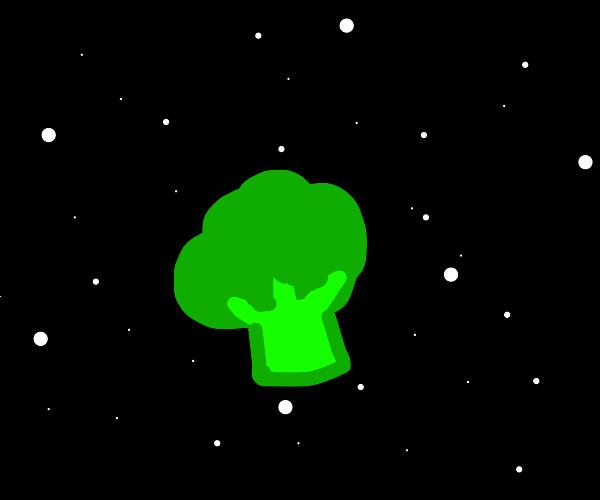 Broccoli Blastin' into space