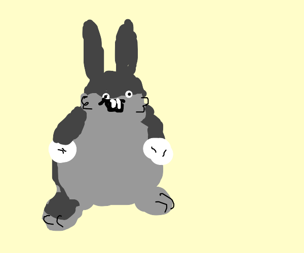 Comical Bugs Bunny