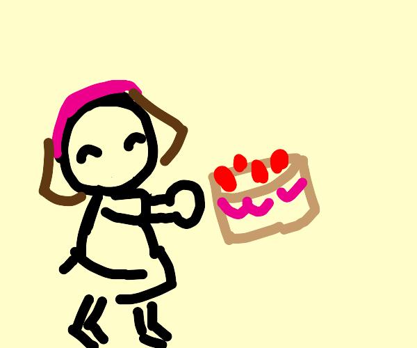 cooking mama strawberry shortcake