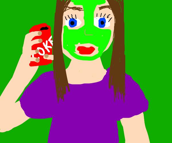 Coke and Facial