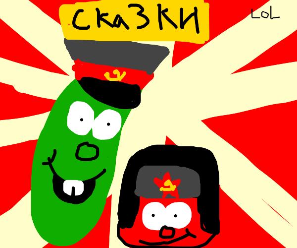 Communist Veggie Tales