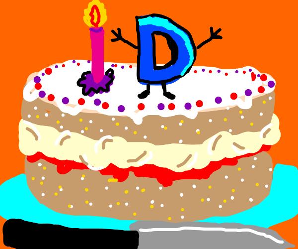 Happy birthday D