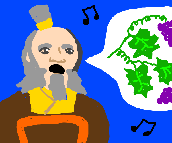 Uncle Iroh sings Leaves From The Vine