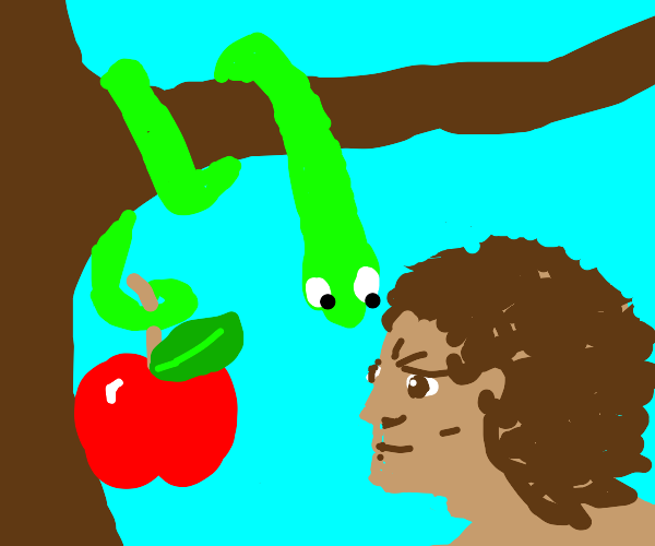 Adam and the serpent
