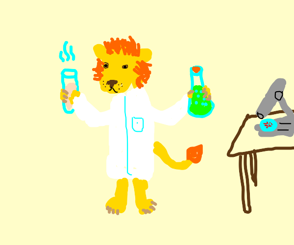 Lion the Scientist