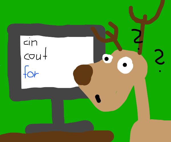 Deer cannot do C++