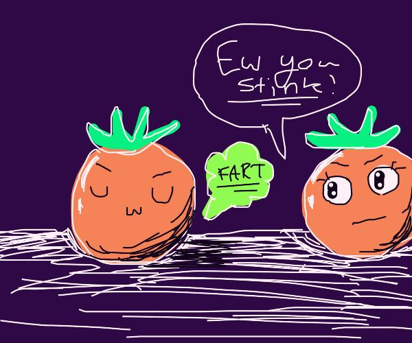 smelly tomato
