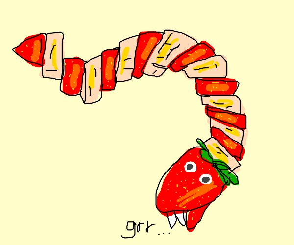 Snake snack will bite you back