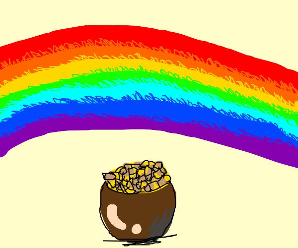 Somewhere, under the rainbow...