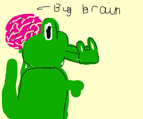 Big Brain Crocodile