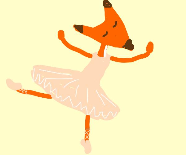 Fox dancing