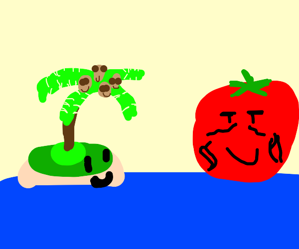 Island and Tomato are best friends