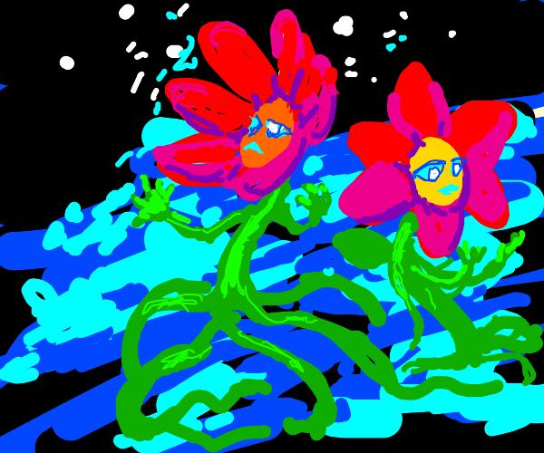 Sentient flowers