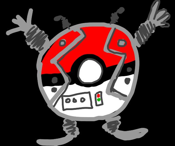 Pokéball robot
