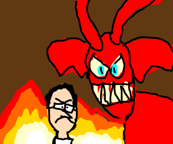 Angry Video Game Nerd in Hell