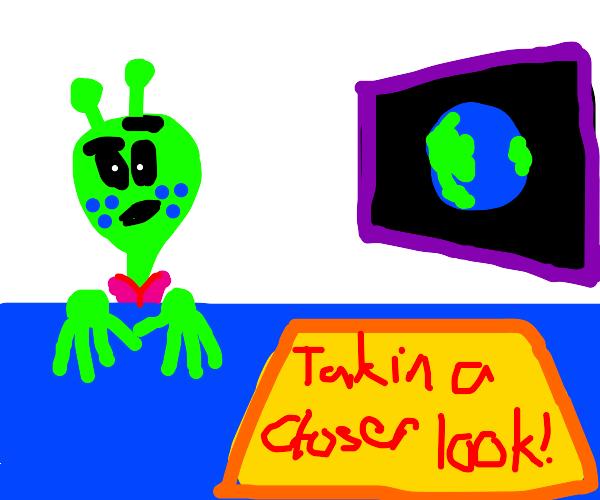 alien news looks at earth