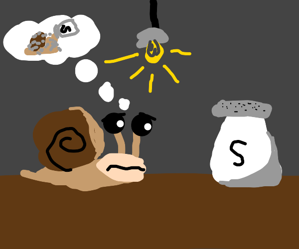 suicidal snail