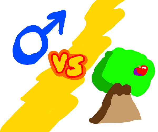 Male gender vs tree