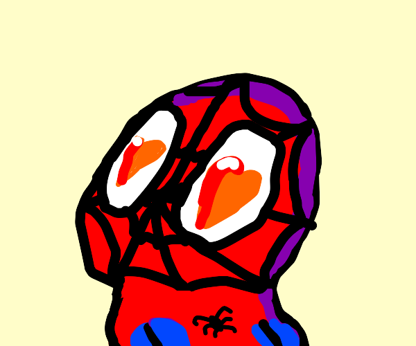 Spider-man in love