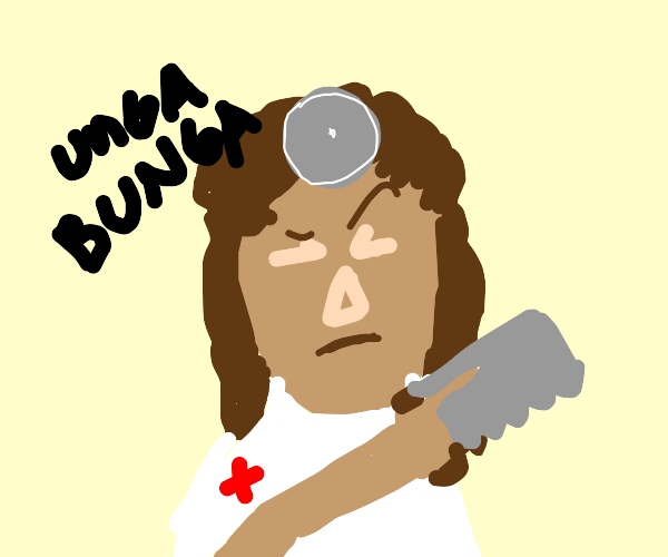 Caveman surgeon