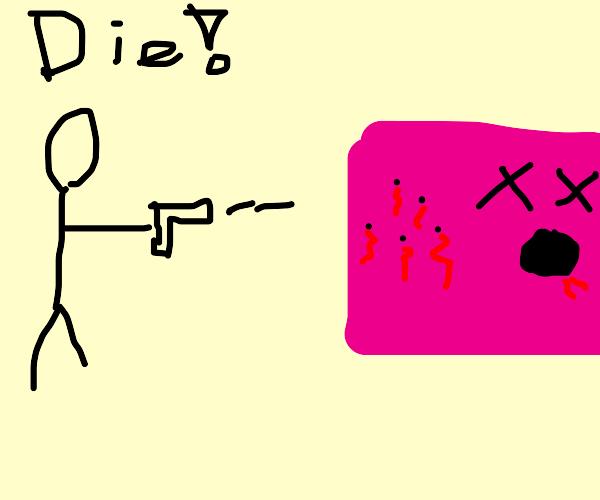 Kill pink