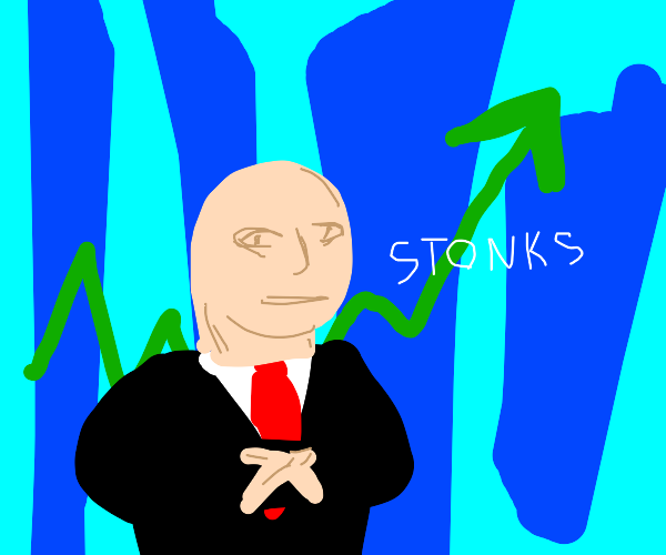 STONKS guy